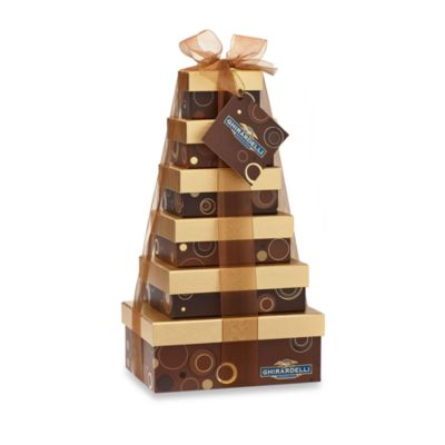 Glorious Ghirardelli® 6-Tier Gift Tower