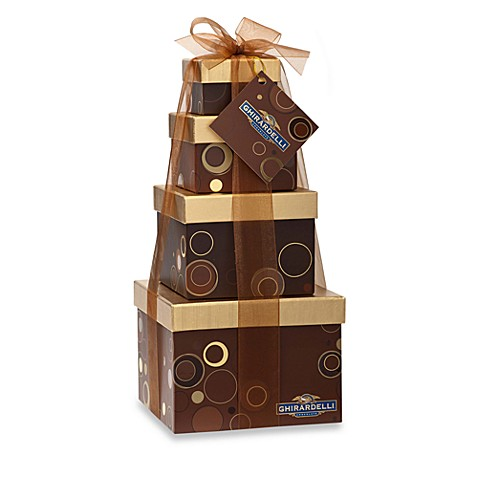 Ghiradelli® Sensational Sweets 4-Tier Gift Tower