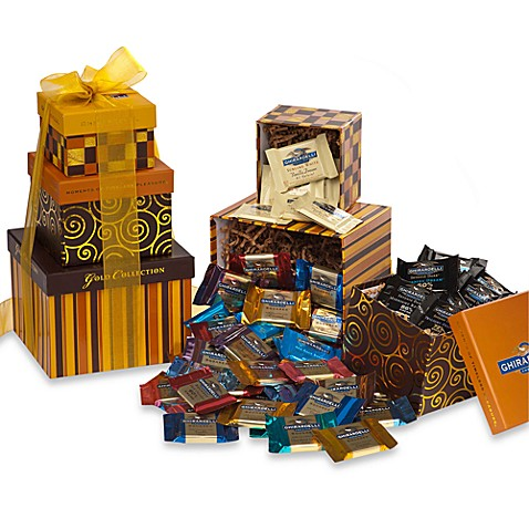 Ghiradelli® Tower of SQUARES™ Chocolates