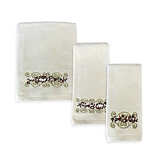 Winter Berries Bath Towels by Saturday Knight Limited, 100% Cotton