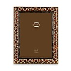 Prinz Passages 5-Inch x 7-Inch Metal Frame in Giraffe