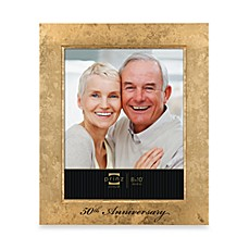 Prinz Happily Ever After 50th Gold Anniversary Wood Frame