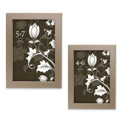 Prinz Soho Pewter Frame (Set of 4)