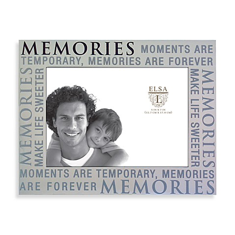 Elsa L. in c. 5-Inch x 7-Inch Memories Alum in a Picture Frame