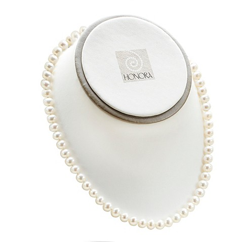 Honora Classics Sterling Silver, 7-7.5mm Freshwater Cultured Pearl 18