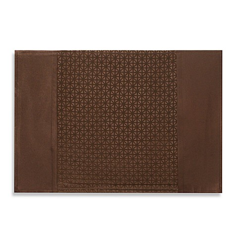 Marquis by Waterford Riverside Placemat in Chocolate
