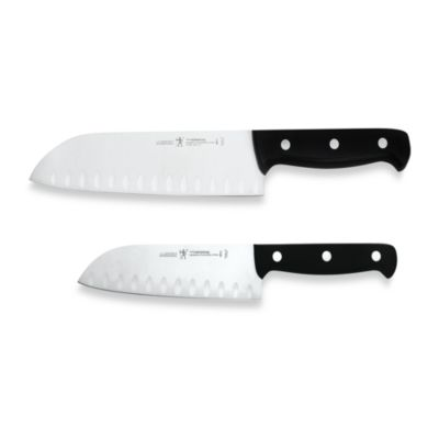 J.A. Henckels International Fine Edge Pro 2 Piece Santoku Set