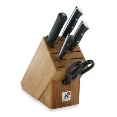MIYABI Morimoto Series 600 S 6-Piece Knife Block Set