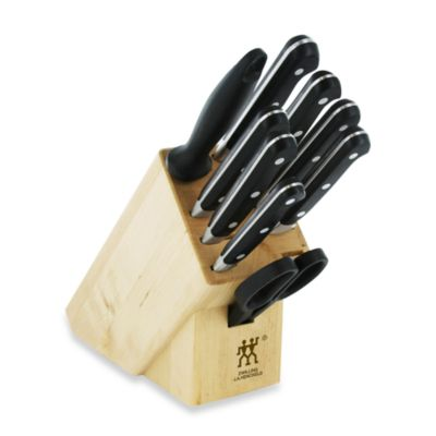 Zwilling J.A. Henckels Twin Professional S 10-Piece Knife Block Set