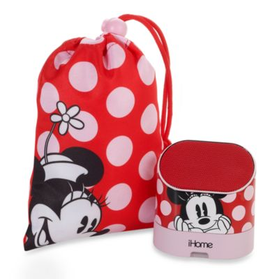 Minnie Mouse Portable Rechargeable Speakers with Base