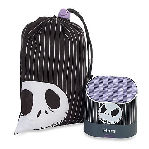 Jack Skellington Portable Rechargeable Speakers with Base