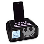 Disney Loves iHome Jack Skellington Dual Alarm Clock Speaker System