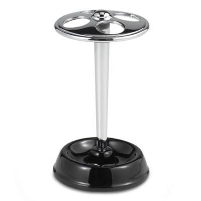 York Black Large Toothbrush Stand