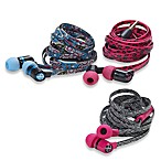 ChicBuds ARTS No Tangle Printed Cord Earbuds