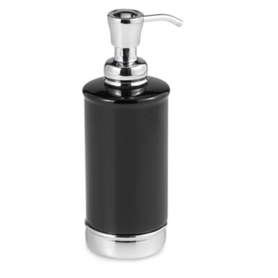 York Black Lotion Dispenser