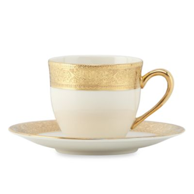 Lenox® Westchester™ 2 1/2-Inch Demi Cup and Saucer
