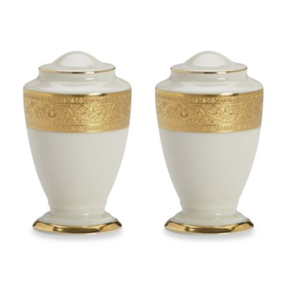 Lenox® Westchester™ 3 2/5-Inch Salt and Pepper Shakers