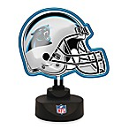 Carolina Panthers Neon Helmet Lamp