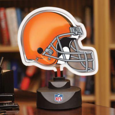NFL Cleveland Browns Neon Helmet Lamp