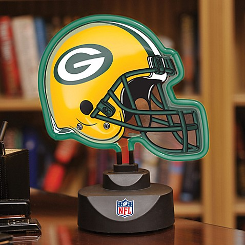 NFL Green Bay Packers Neon Helmet Lamp
