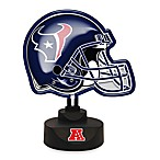 Houston Texans Neon Helmet Lamp
