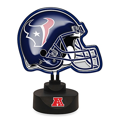 NFL Houston Texans Neon Helmet Lamp