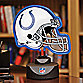 NFL Indianapolis Colts Neon Helmet Lamp