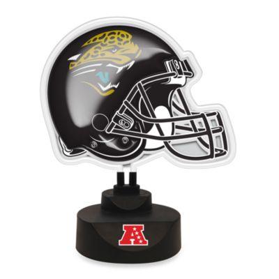 NFL Jacksonville Jaguars Neon Helmet Lamp