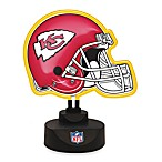 Kansas City Chiefs Neon Helmet Lamp
