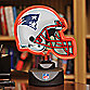 New England Patriots Neon Helmet Lamp