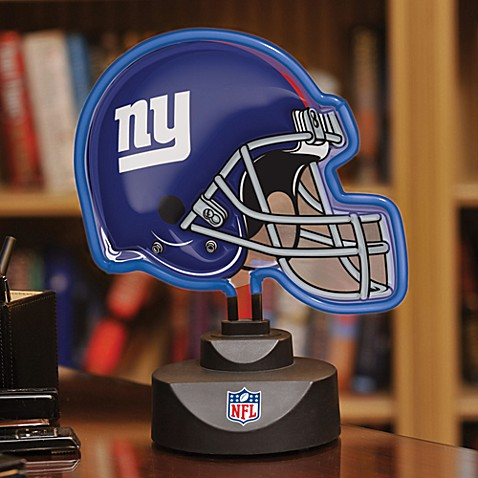 NFL New York Giants Neon Helmet Lamp