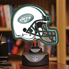 NFL New York Jets Neon Helmet Lamp