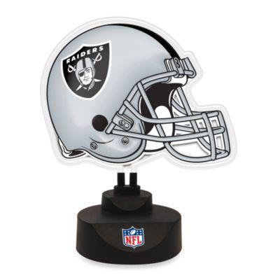 NFL Oakland Raiders Neon Helmet Lamp