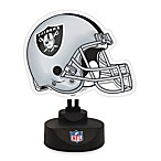 Oakland Raiders Neon Helmet Lamp