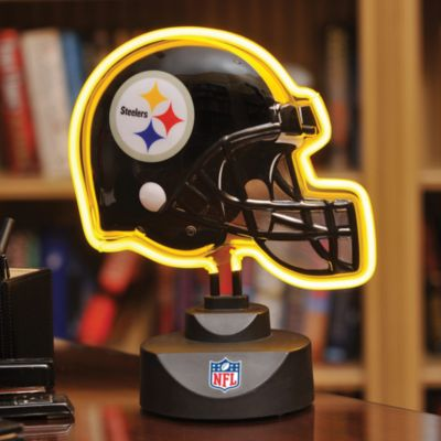 Pittsburgh Steelers Neon Helmet Lamp