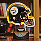 NFL Pittsburgh Steelers Neon Helmet Lamp