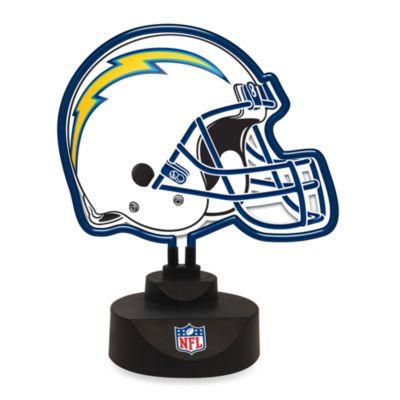 NFL Neon Helmet Lamp > NFL San Diego Chargers Neon Helmet Lamp