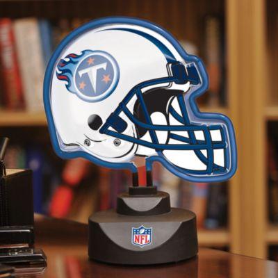 NFL Tennessee Titans Neon Helmet Lamp
