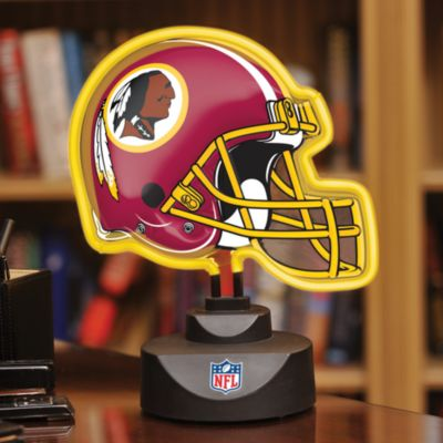Washington Redskins Neon Helmet Lamp