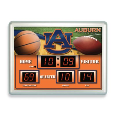 College Scoreboard Wall Clocks