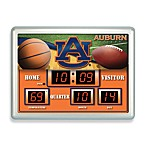 Auburn University Indoor/Outdoor Scoreboard Wall Clock