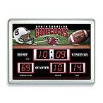 University of South Carolina Indoor/Outdoor Scoreboard Wall Clock