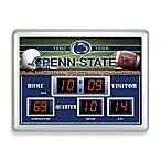 Penn State Indoor/Outdoor Scoreboard Wall Clock
