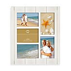 Prinz 5-Opening 4-Inch x 6-Inch Wood Frame in Seaside Whitewash