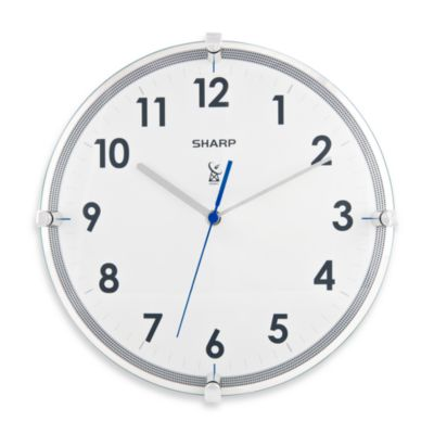 Sharp 11-Inch Atomic Wall Clock