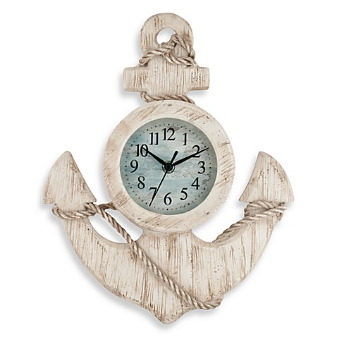 Antique Anchor Wall Clock Www Bedbathandbeyond Com