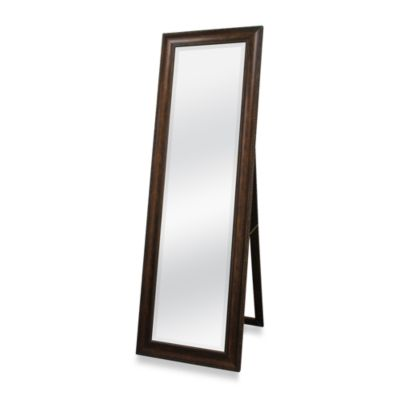 Golden Bronze 20-Inch x 60-Inch Floor Mirror with Easel