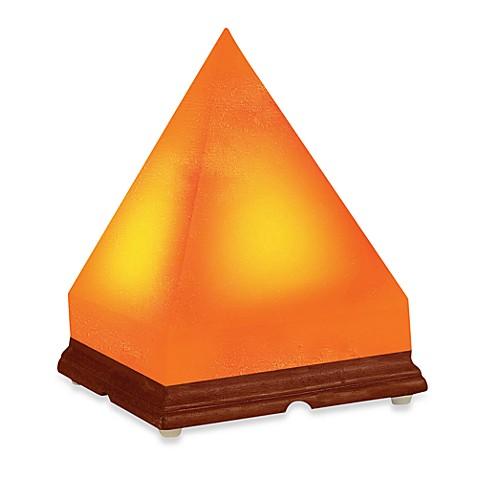 Wbm himalayan ionic crystal salt pyramid lamp bed bath for Wbm 7 tall himalayan natural crystal salt lamp
