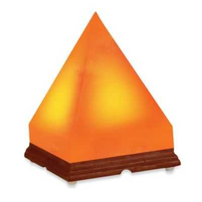 Himalayan Salt Lamps At Bed Bath And Beyond : WBM Himalayan Ionic Crystal Salt Pyramid Lamp - Bed Bath & Beyond