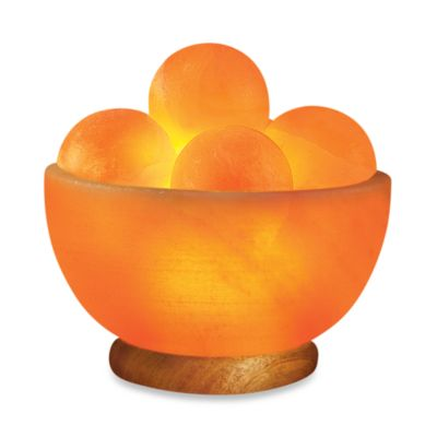 WBM Himalayan Natural Crystal Salt Fire Bowl Lamp